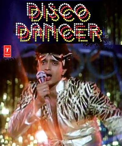 A scene from Disco Dancer