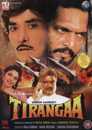 Movie poster of Tirangaa