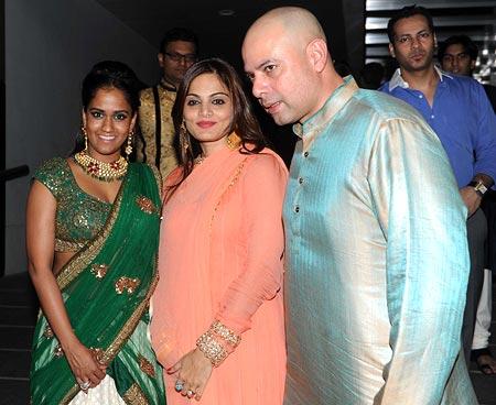 Arpita Khan, Alvira and Atul Agnihotri