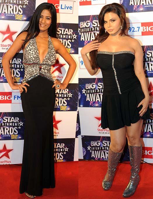 Poonam Pandey and Rakhi Sawant