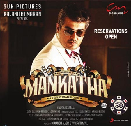 Movie poster of Mankatha