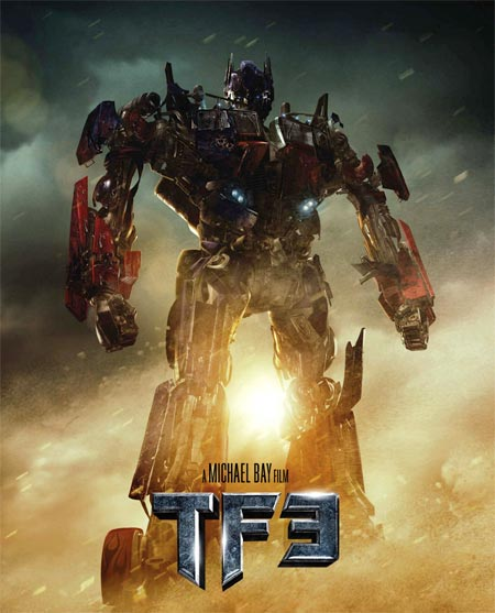 Movie poster of Transformers 3