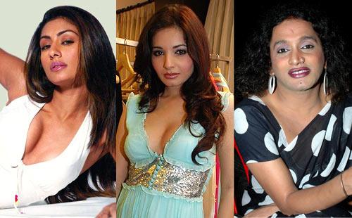 Mahek Chahal, Shonali Nagrani and Laxmi Narayan Tripathi