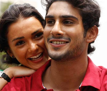 Amy Jackson and Prateik Babbar