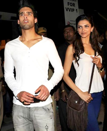 Siddharth Mallya and Deepika Padukone
