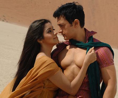 A scene from Ghajini