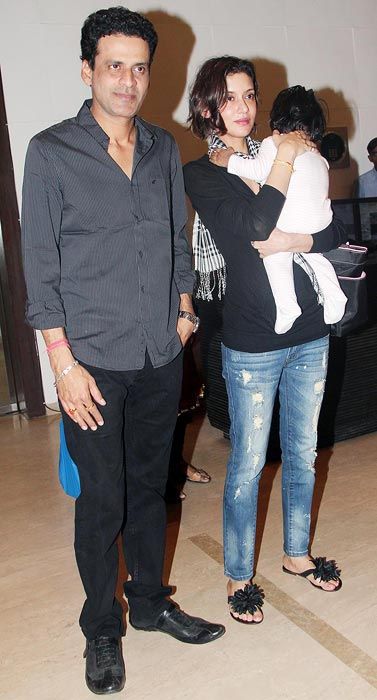 Manoj Bajpai and Neha