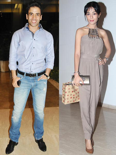 Tusshar Kapoor and Amrita Rao