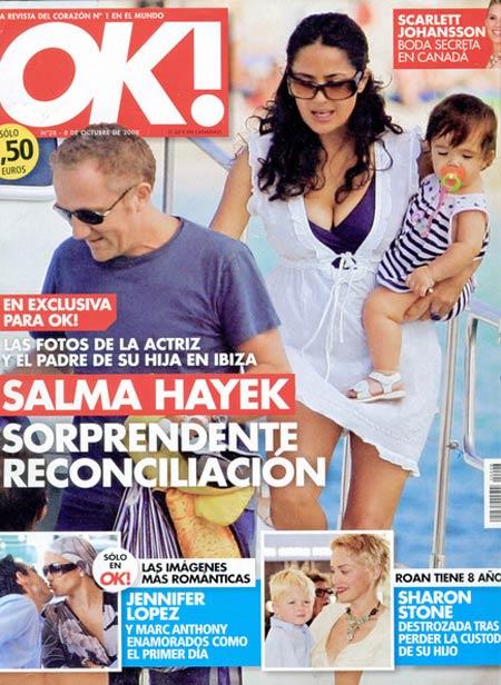 Salma Hayek with daughter Valentina Paloma Pinault