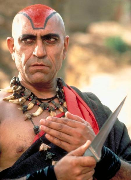Amrish Puri in Indiana Jones And The Temple Of Doom