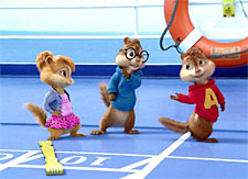 A scene from Alvin and The Chipmunks - Chipwrecked