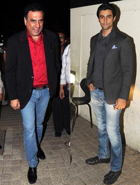 Boman Irani and Kunal Kapoor