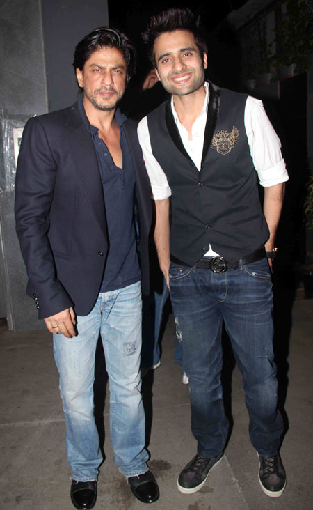 Shah Rukh Khan and Jackie Bhagnani