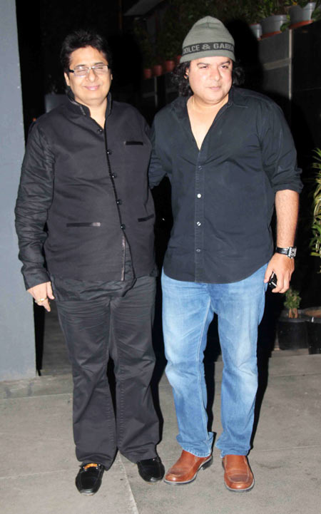 Vashu Bhagnani and Sajid Khan