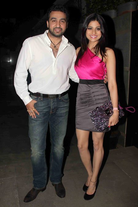 Shamita Shetty and Raj Kundra