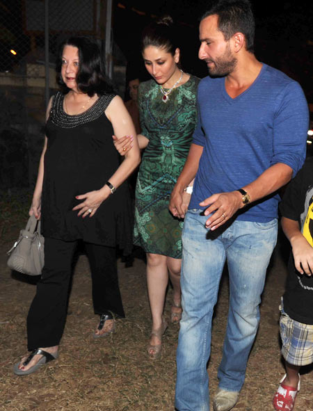Babita, Kareena Kapoor and Saif Ali Khan