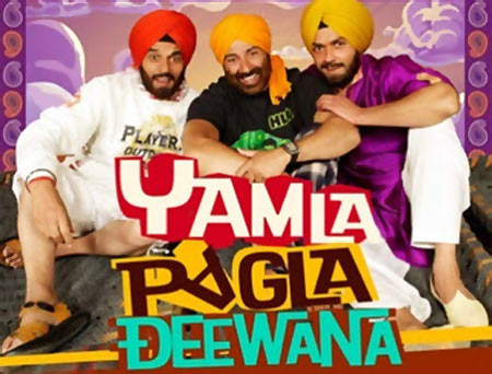 Movie poster of Yamla Pagla Deewana