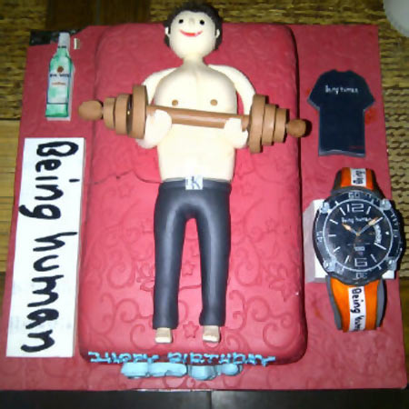 Salman's birthday cake