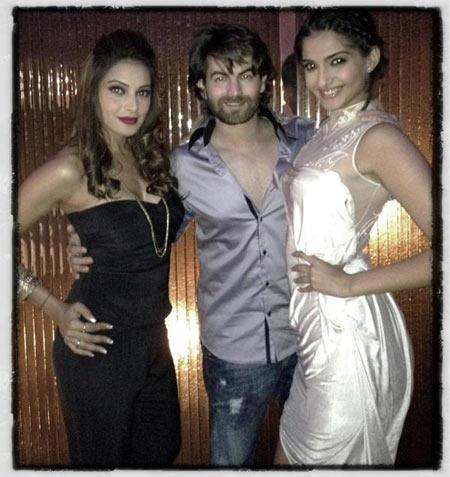 Bipasha Basu, Neil Nitin Mukesh and Sonam Kapoor