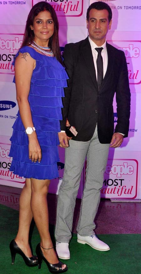 Ronit Roy and Neelam Singh