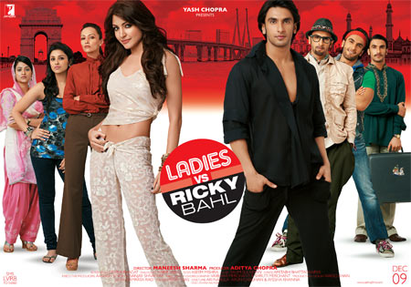 Movie poster of Ladies v/s Ricky Bahl