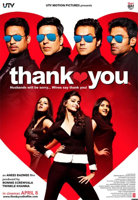 Movie poster of Thank You