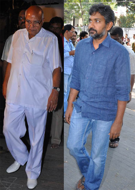 Ramoji Rao and  S.S Rajamouli
