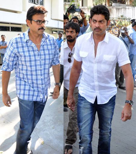 Venkatesh and Jagapathi Babu