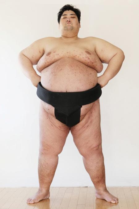 Japanese sumo wrestler Yamamotoyama