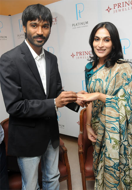 Dhanush and Aishwarya