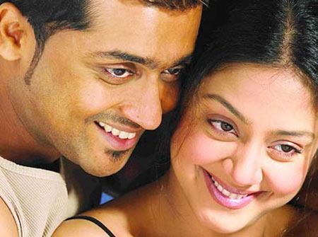 Suriya and Jyothika