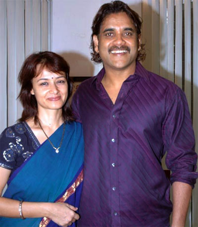 Amala and Nagarjuna