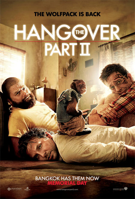 Movie poster of The Hangover II