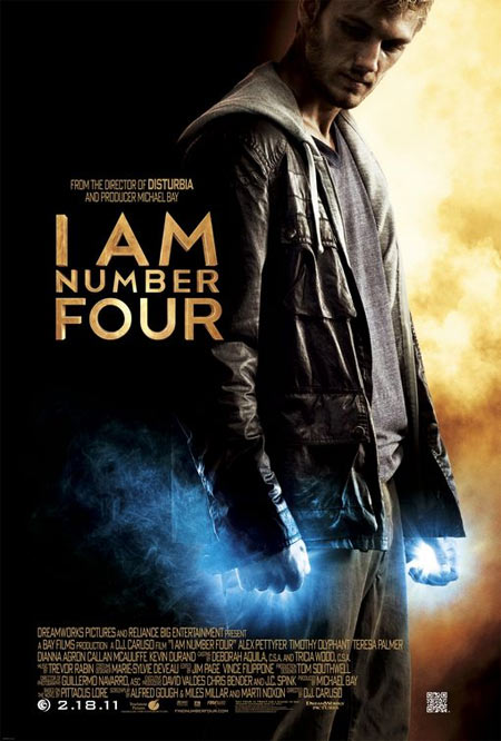 Movie poster of I Am Number Four
