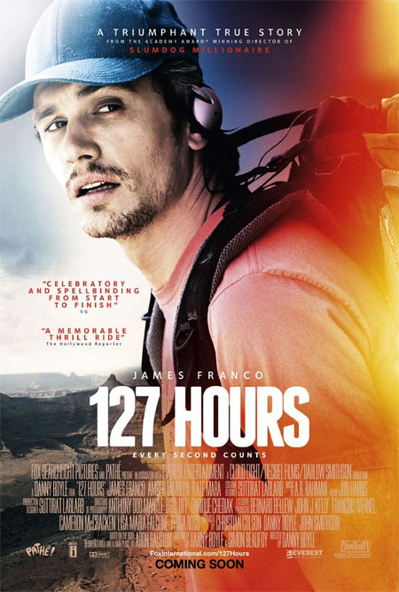 Movie poster of 127 Hours