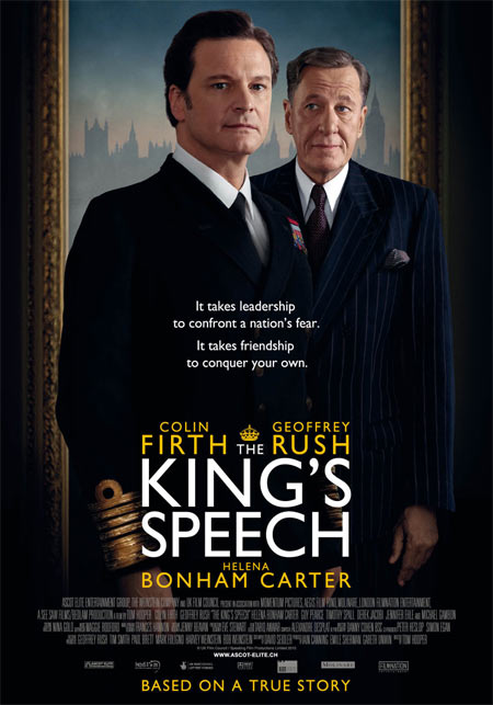 Movie poster of The King's Speech