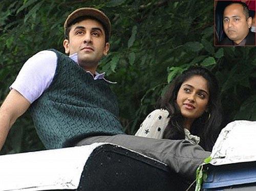 Ranbir Kapoor and Ileana in Barfee. Inset: Vipul Shah