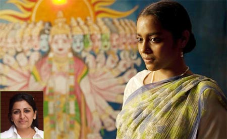 Shahana Goswami in Midnight's Children. Inset: Bhavna Talwar