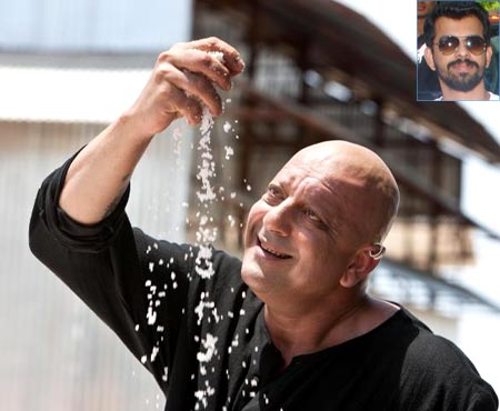 Sanjay Dutt in Agneepath. Inset: Bejoy Nambiar