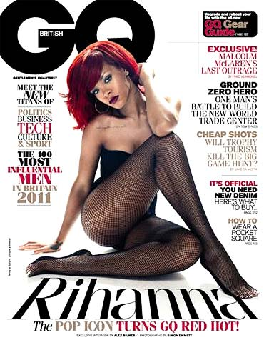 Rihanna on the cover of GQ
