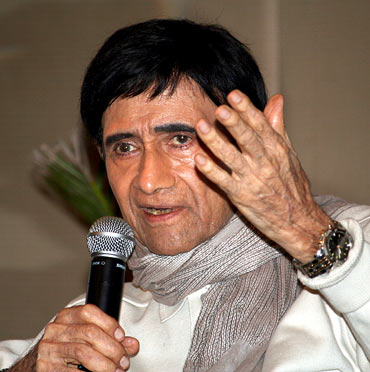 Dev Anand at the promo launch of Chargesheet