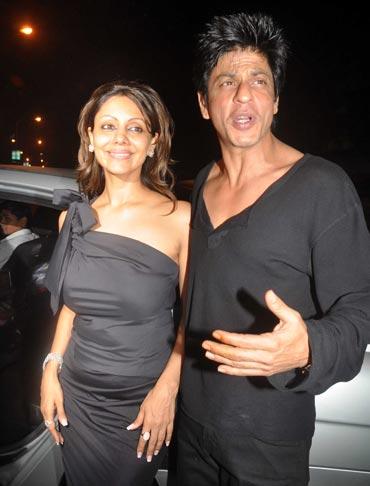 Gauri and Shah Rukh Khan