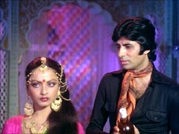 A scene from Muqaddar Ka Sikandar