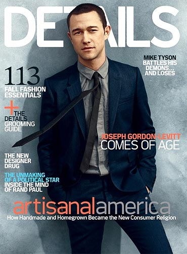Joseph Gordon-Levitt on the cover of Details