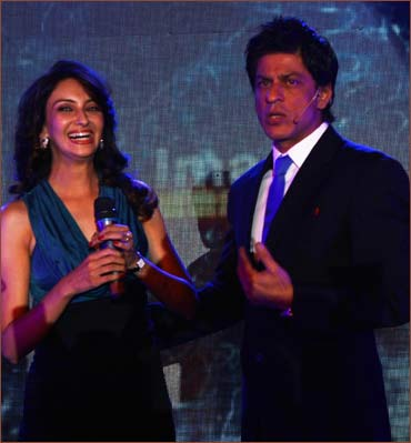 Saumya Tandon and Shah Rukh Khan