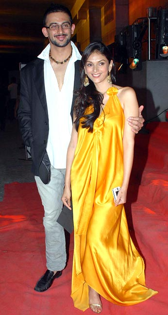 Aditi Rao and Arunoday Singh