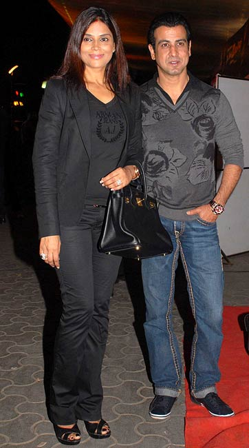 Neelam and Ronit Roy