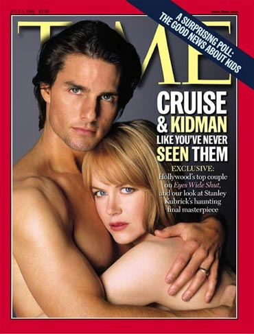Tom Cruise and Nicole Kidman on the cover of Time