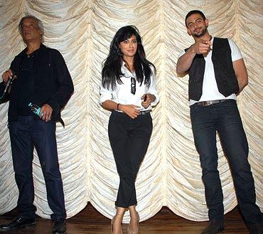 Sudhir Mishra, Chitrangada Singh and Arunoday Singh