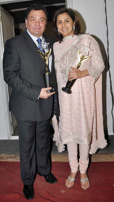 Rishi Kapoor and Neetu Singh